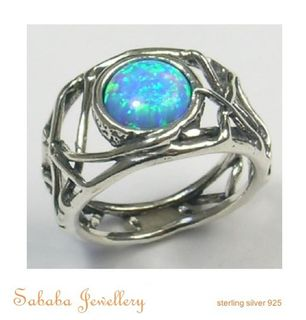 Solitaire Gem Ring