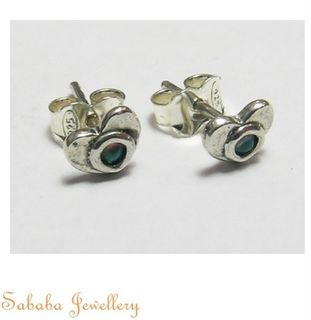 Sterling Silver 925 Stud Earrings