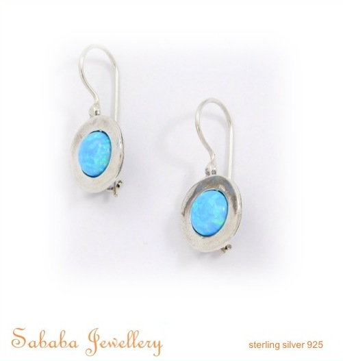 Sterling SilverOpal Round