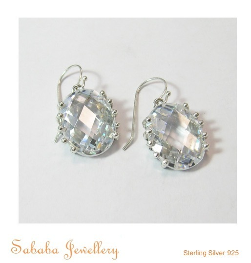 Stunning CZ Earrings